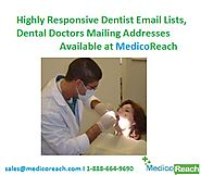 Dentist Email List - Email Addresses of Dentist in USA