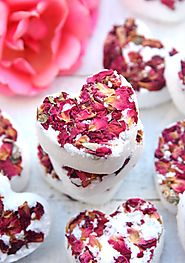 DIY Rose Bath Bombs - Happy-Go-Lucky