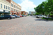 The Historic Woodstock Square!