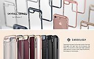 iPhone 7 Case, Caseology [Skyfall Series] Transparent Clear Enhanced Grip [Rose Gold] [Slim Cushion] for Apple iPhone...
