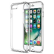 iPhone 7 Case, Trianium [Clarium Series] Premium Shock Absorption TPU Bumper Cushion + Scratch Resistant Clear Protec...
