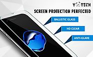 iPhone 7 Plus Screen Protector ,Yootech [2-Pack] iPhone 7 Plus Tempered Glass Screen Protector Only for Apple iphone ...