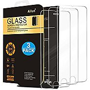 iPhone 7 Plus Screen Protector,[5.5inch][3Pack]by Ailun,2.5D Edge Tempered Glass for iPhone 7 plus,6/6s plus,Anti-Scr...