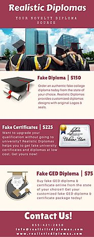 Buy Fake Diplomas, Fake Certificates, and Fake Ged Diploma Online