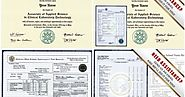 Purchase Fake Academic Documents Replicated From Original Ones!