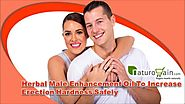 Herbal Male Enhancement Oil To Increase Erection Hardness Safely