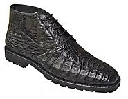 Mens Alligator Shoes Made Of Exotic Skin Leather