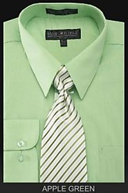 Endure The Comfort Of Stylish Green Dress Shirt