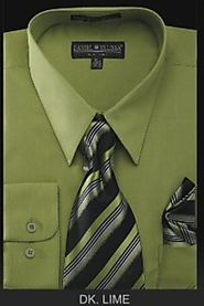 Reveal Your Decency By Green Dress Shirt