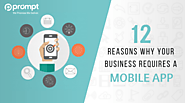 12 Reasons Why Your Business Requires a Mobile App