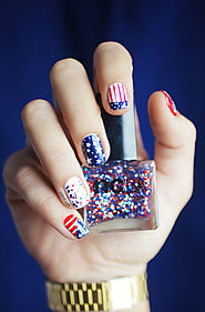 Happy 4th of July Nails Design | Cute And Funny 4th of July Nail Art 2017