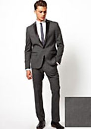 Fitted Tuxedo -For A Sharp Slim Fit Look