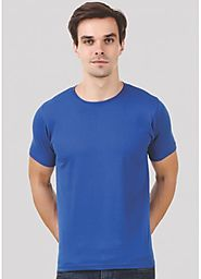 Shop Online Plain T- Shirt for Men at Cheapest Price!