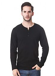 Henley Full Sleeve T Shirts- Perfect Winter Attire for Men