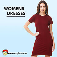 Long Sleeve T Shirt Dress- Unconventional Piece of Clothing for Women