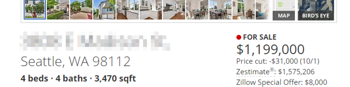 Headline for Whats Wrong With The Zillow Zestimate