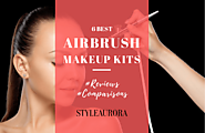 Airbrush Makeup Reviews 2017: 6 Best Airbrush Makeup Kit For You