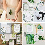 Leafy Wedding Invitations