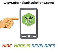 Hire Node. JS Web Developers from Eternal Web, India, UK