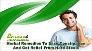 Herbal Remedies To Ease Constipation And Get Relief From Hard Stools