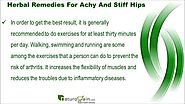 Best Herbal Remedies For Achy And Stiff Hips That Are Effective
