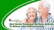 Best Herbal Treatment For Knee Arthritis To Relieve Joint Stiffness Safely