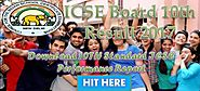ICSE Board 10th Result 2017 Announced Download 10TH Standard Performance Report