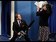 Sean Spicer Press Conference Melissa McCarthy wearing Ivanka Trump brand heels SNL