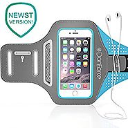 IPhone 7 , 6 , 6S SPORTS Armband | Stores Phone, Cash, Cards and Keys , Great for Running, Cycling, Workouts or any F...