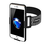 iPhone 7 Armband, FRiEQ Armband for Apple iPhone 7 - Lightweight & Fully Adjustable - Ideal for Workout, Hiking, Jogg...