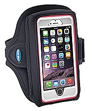 Armband for iPhone 6, 6s, 7 with OtterBox & Galaxy S6/S7/S8 with LifeProof Case or OtterBox Defender – for Running & ...