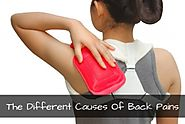 The Different Causes Of Back Pains