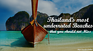Thailand's Most Underrated Beaches That You Should Not Miss -Help Traveler Online
