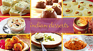 Indian Desserts for Weddings !
