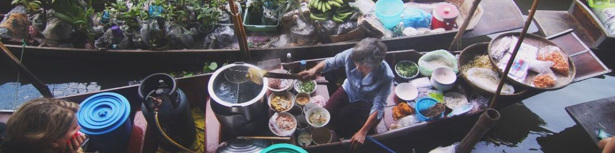 Headline for Floating Markets in Bangkok – A Must Experience Shopping and Dining Encounter
