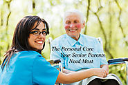 The Personal Care Your Senior Parents Need Most