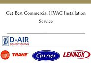 Get Best Commercial HVAC Installation Service