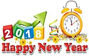 Happy New Year Clipart 2018 - Happy New Year 2018 Clipart Images, Pictures & Photos