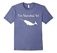 I'm Narwhal In Funny Animal Graphic T-Shirt