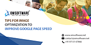 Tips for Image Optimization to Improve Google Page Speed