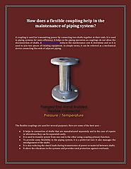 How Does A Flexible Coupling Help In The Maintenance Of Piping Syste…