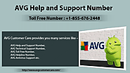 AVG Help and Support Number +1-855-676-2448