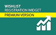 Wishlist Registration Widget | Happy Plugins Store