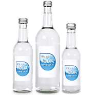 Promotional Bottled Water Glass in UK
