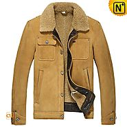 Dublin Mens Flight Jacket Sheepskin Jacket CW860183