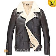 Mens Sheepskin Aviator Jackets CW857185 - cwmalls.com
