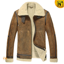 Men's Winter B-3 Sheepskin Bomber Jacket CW878315