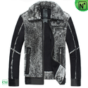 Men's Sheepskin Biker Jacket CW868003