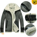 Shearling Bomber Jacket Men CW877063