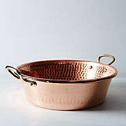 Mauviel M'passion Copper Jam Pan